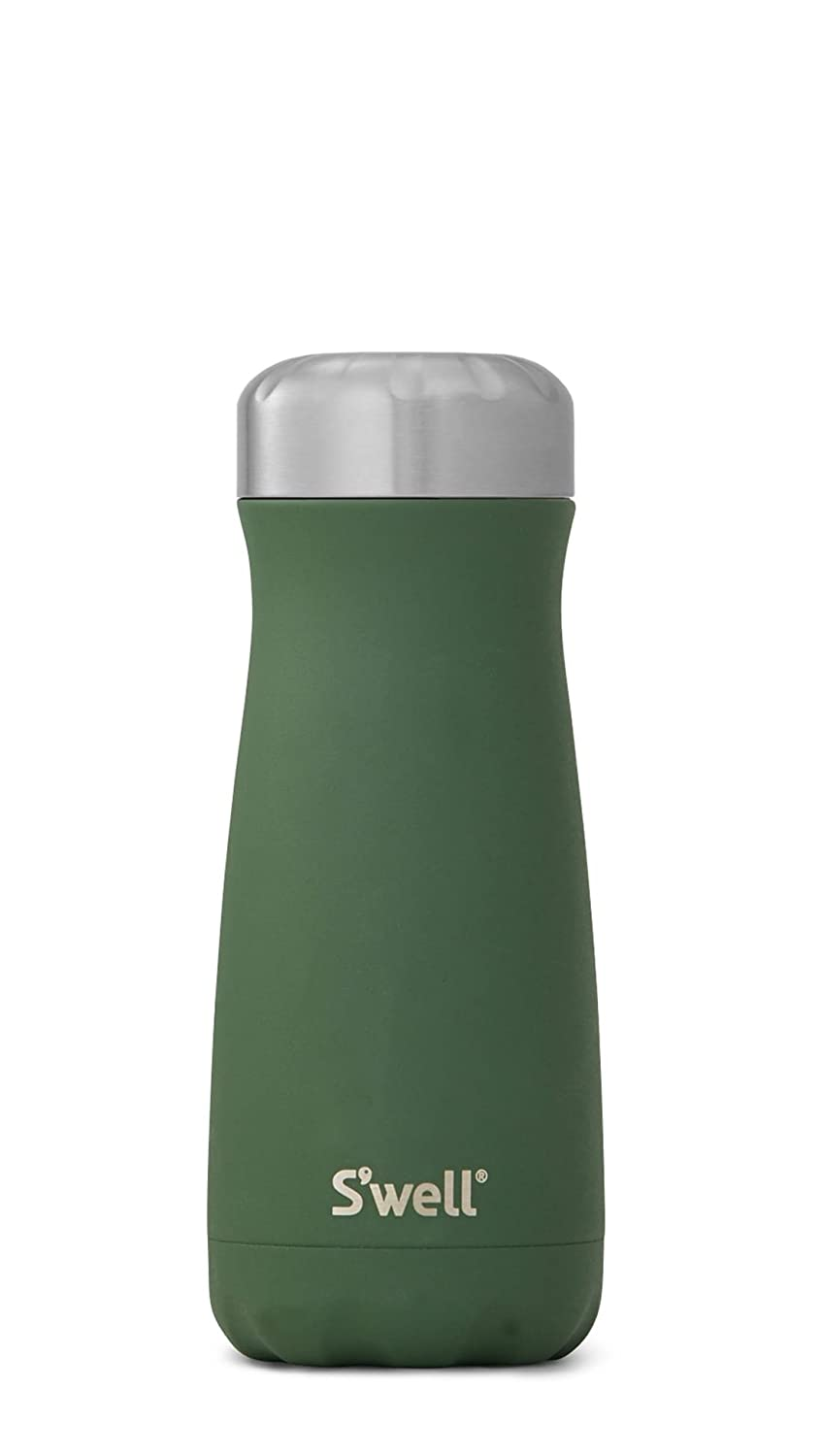 (470ml, Green Jasper) - S'well Stainless Steel Travel Mug, 470ml, Green Jasper B076GNN6RN  Green Jasper 16oz