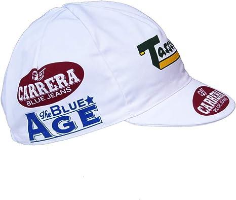 APIS Carrera - Gorra de ciclismo (algodón), diseño vintage: Amazon ...
