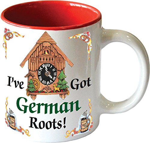 """Gift for German Coffee Mug""""I"""