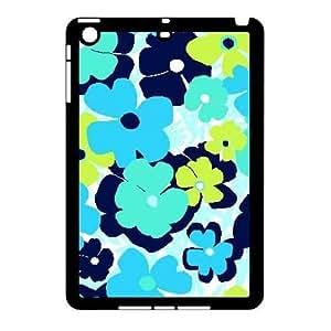 Blue Flowers Custom Cover Case for Ipad Mini,diy phone case ygtg612699 wangjiang maoyi
