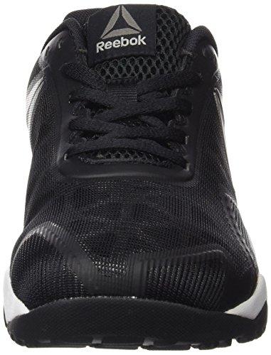 Reebok Ros Workout Tr 2.0, Zapatillas de Deporte Interior para Hombre Negro (Black /             Excellent Red /             Pewter)