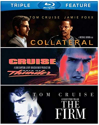 Tom Cruise Triple Feature (Collateral / Days of Thunder / The Firm) [Blu-ray] (Tom Für Männer)