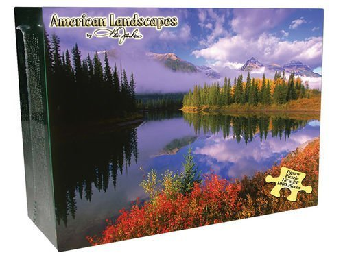 Rocky Mountains 1000 Piece Jigsaw Puzzle American Landscapes by Ken Jenkins
