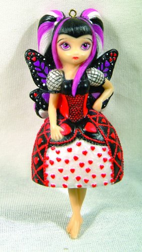Strangelings Where Is My Valentine Fairy Ornament 7776 By Jasmine Becket Griffith