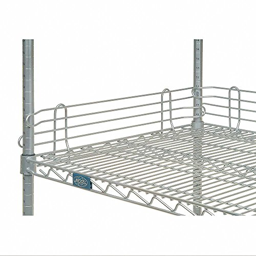 Nexel Wire Shelf Ledge, Chrome Finish, 14