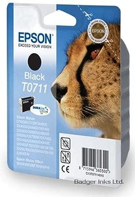 Negro Epson Cartucho de tinta para impresora Epson Stylus DX5000 ...