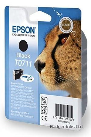 Negro Epson Cartucho de tinta para impresora Epson Stylus D y DX ...