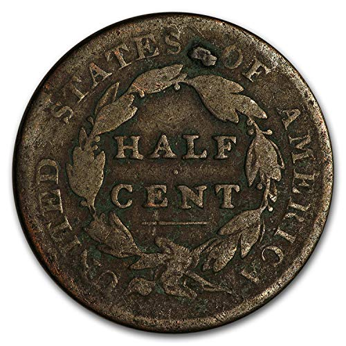 1800-1857 Half Cents Culls Cent Very Good ()