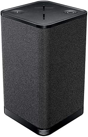 Ultimate Ears Hyperboom Portable & Home Wireless Bluetooth Speaker, Loud Speaker, Big Bass, Water resistant IPX4, 150 Ft Range – Black