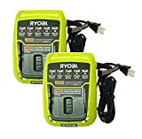 Ryobi C120D 140109001 Replacement (2 Pack) ONE Plus 12V Multi-Chemistry Charger # 140109016-2pk