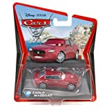 Disney Pixar Cars 2 Movie Series Mattel 1:55 Scale Die Cast Car Carlo Maserati