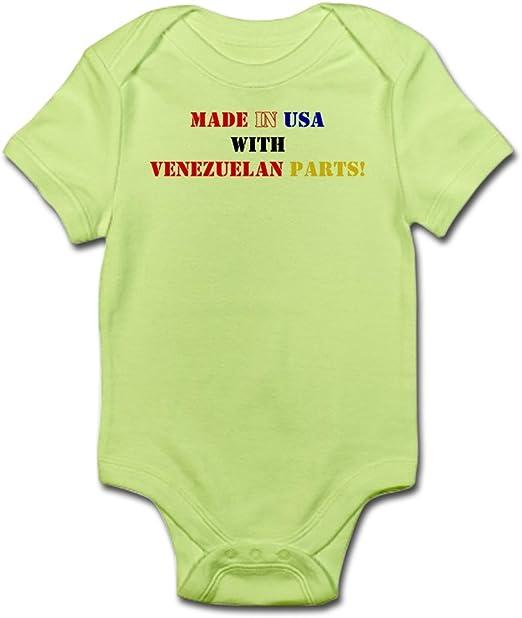 CafePress Made in America with Venezuelan Organic Baby T