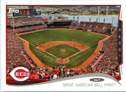 2014 Topps Team Edition Baseball Card Great American Ball Park Cincinnati Reds # CIN17