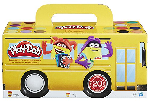 Hasbro Play-Doh a7924eu6-Couleurs super Set, modeler Lot de 20