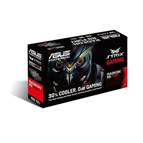 Amazon.com: ASUS STRIX-R9FURY-DC3-4G-GAMING AMD Radeon R9 Fury 4GB: Computers & Accessories