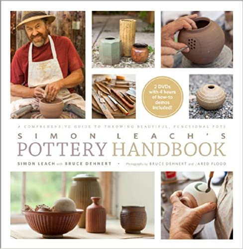 Book Simon Leach's Pottery Handbook: A Comprehensive Guide to Throwing Beautiful, Functional Pots