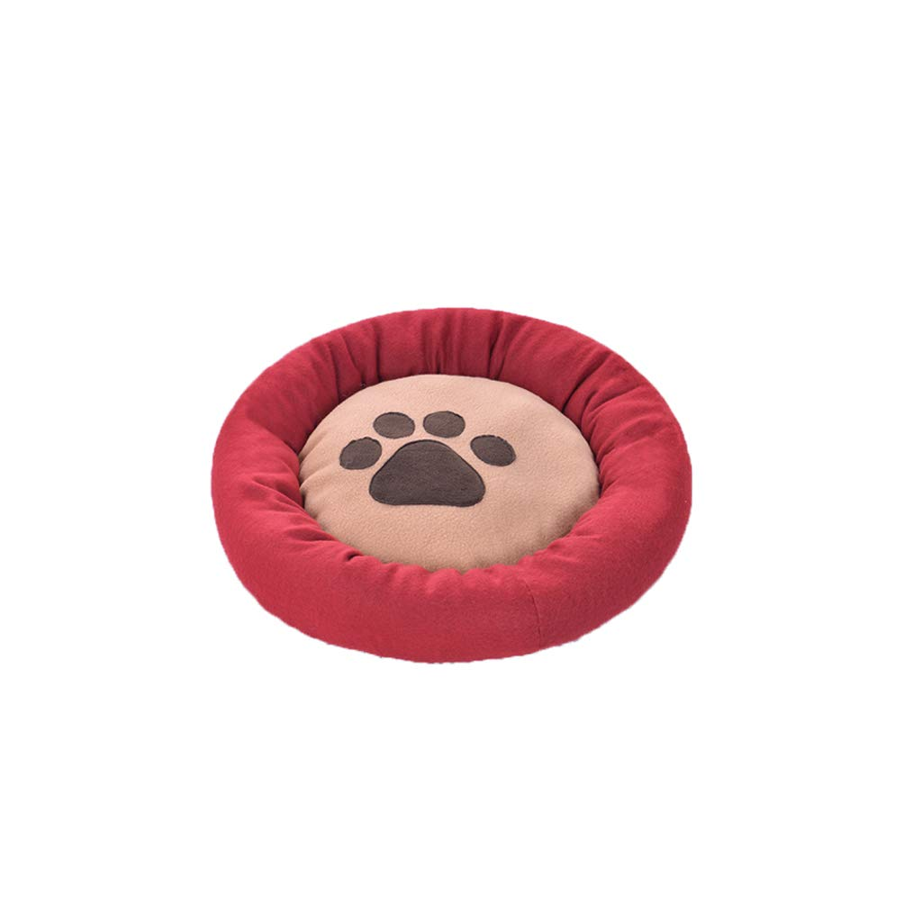 RED S RED S TLTLCWW Dog Bed, Four Seasons Universal Pet Bed Cat Bed Small Medium Dog Pet Sleeping Mat, Multi-color Optional (color   RED, Size   S)