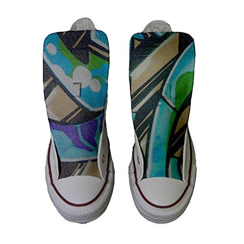 Converse Star Graffiti Produkt All mit Handwerk personalisierte Schuhe BBxrwfqH