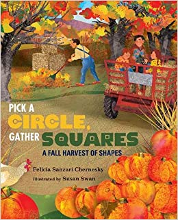 Pick a circle, gather squares a fall harvest of shapes