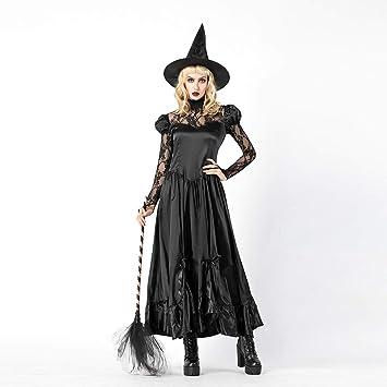 Waniba Mujeres Disfraz de Cosplay de Halloween para Mujer Vestido ...
