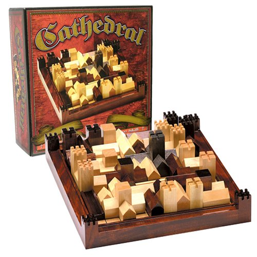 Wood Board Games ~ Cathedral wood strategy tabletop board game classic ebay