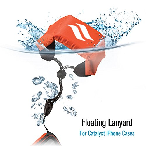 Lanyard Floating - Floating Lanyard Reflective for Phone or Other Device by Catalyst, Orange