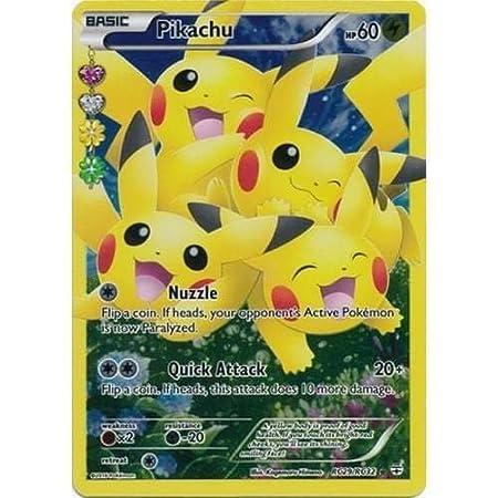Pokemon Karten Pikachu Ex.Pokemon Card Pikachu Rare Holo Rc29 Rc32 Generations Amazon
