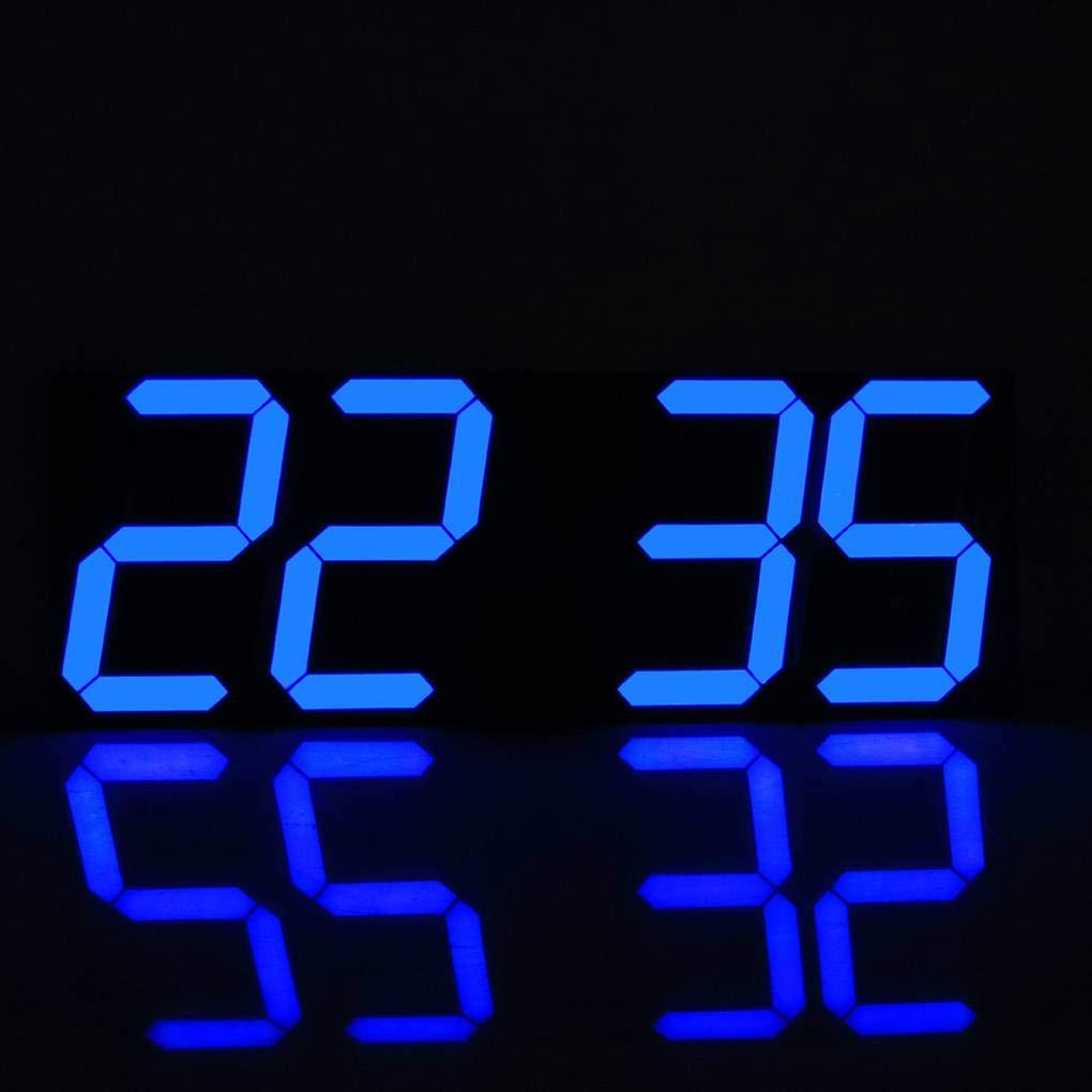 Gran Reloj de Pared Digital LED de Pantalla del Control Remoto cronómetro Cuenta Regresiva el Despertador para el hogar Tienda Regard: Amazon.es: ...