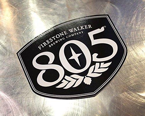 (Firestone Walker Brewing Company - 805 Shield Sticker)