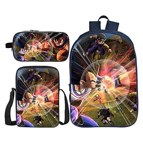 Cossun Cool Dragon Ball mochila de impresión para la escuela ...