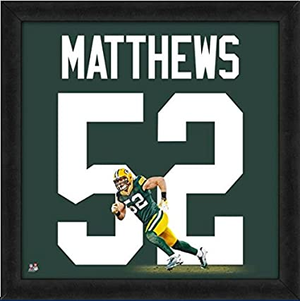 low priced 01b13 ecfee Amazon.com: Green Bay Packers Clay Matthews #52 Players ...
