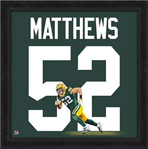 Green Bay Packers Clay Matthews #52 Players Jersey - 52 Green Matthews Clay