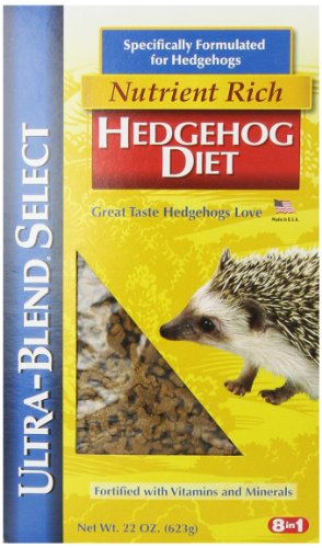 Pretty Pets Hedgehog - 8 In 1 Ultra-Blend Select Hedgehog Diet, 22-Ounce