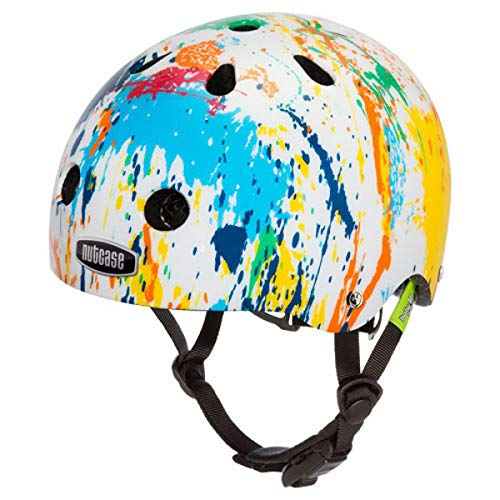 Nutcase - Baby Nutty Bike Helmet for Babies and Toddlers, Color Splash ()