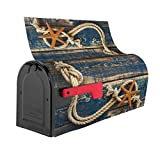 Starfish Summer Old Wooden Mailbox Covers Magnetic