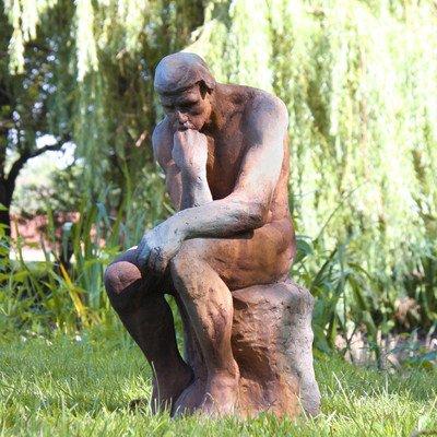 Thinker by Rodin Statue -