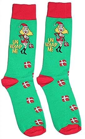 Fine Fit Mens Novelty Trouser Socks 2 Pair Set - Choose Prints
