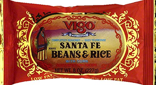 Vigo Santa Fe Beans and Rice, 8 oz