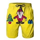 2017 New Style Santa Claus Sexy Elastic Sweatpants For Mans