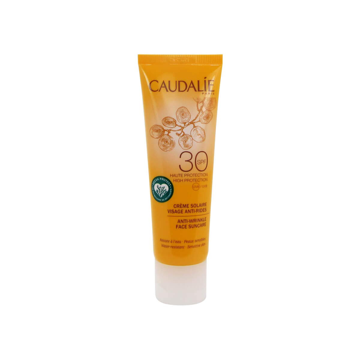 Caudalie - Cuidado Solar Antiarrugas SPF 30, 50 ml: Amazon.es
