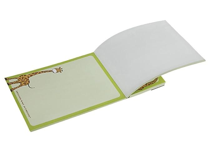 Kühlschrankblock : Notizblock magnetblock blätter süß cartoon kühlschrankblock