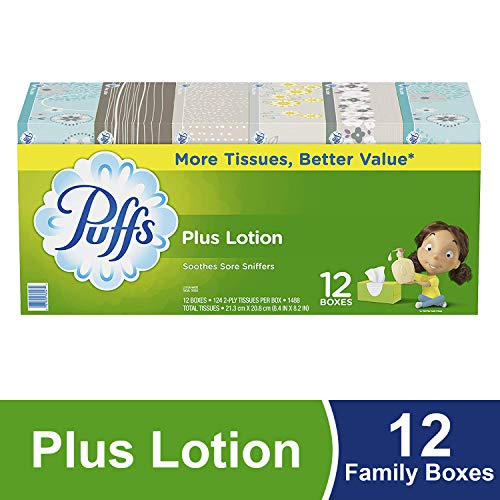 - Puffs Plus Lotion Tissues
