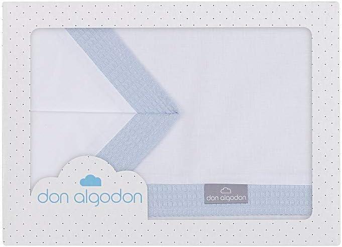 bajera+encimera+funda almohada Sabanas 100/% Algod/ón CUNA 60X120