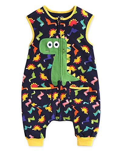 Vaenait baby 1-7Y Kid Boys Wearable Blanket Sleeper Buddy Dino Sleep S