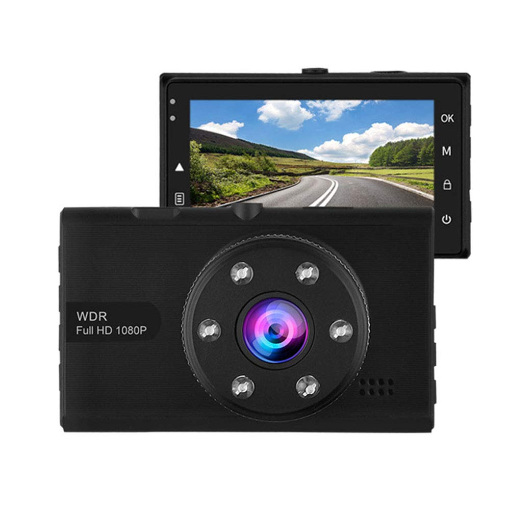 CARWORD Car DVR Sensor Auto Camera Full HD 1080p Dash Cam 3.0 Inch Screen WDR Night Vision Car Video Recorder