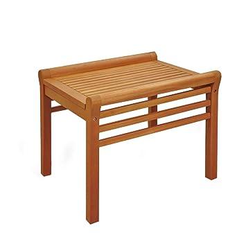 indoba Table de Jardin en Bois d\'eucalyptus: Amazon.fr: Jardin
