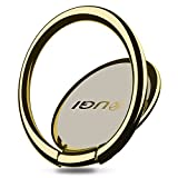 Finger Ring Stand, KuGi 360 Degree Rotation Zinc Alloy phone stand holder Car Mount Phone Ring Grip For iPhone 7 7s 6s Plus 5s Galaxy S8 S8 Plus ipad etc. smartphones and Tablets. (Gold)