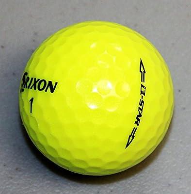24 AAA Srixon Q Star Yellow Recycled Golf Balls