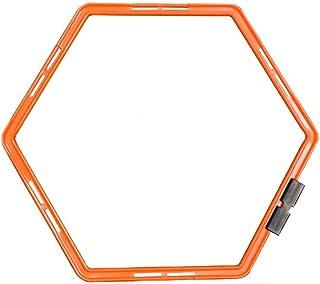Anneau d'agilité Hexagonal de Marque Like itwell - Anneau d'entraînement Physique pour Football, échelles, Haies