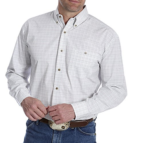 Wrangler Classic Long Sleeve Shirt (White) - 6